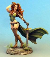 Female Warrior - Pinup
