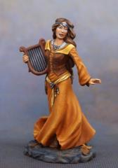 Female Bard w/Harp