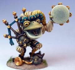 Frog Minstrel