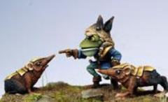 Frog Master of the Shrews & Combat Shrews