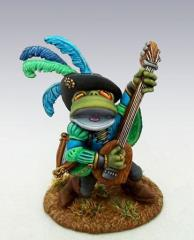 Frog Bard w/Lute