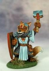 Fox Cleric w/Mace