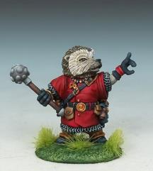 Hedgehog Cleric w/Mace