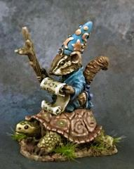 Chipmunk Mage on Turtle Mount
