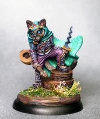 Cat Rogue w/Dagger