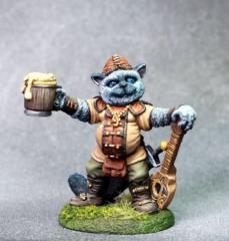 Birman - Cat Bard w/Ale & Lute