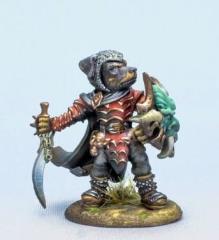 Rottweiler Warrior w/Sword & Shield