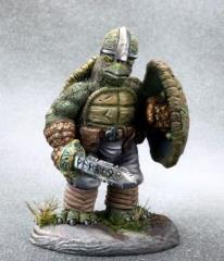 Tortoise Warrior w/Sword & Shield