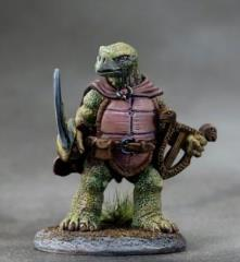 Tortoise Bard w/Lute & Sword