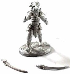 Elven Warrior w/2 Swords #1