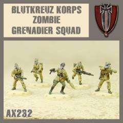 Blutkreuz Korps Zombie Grenadier Squad