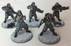 BBQ Assault Rangers Squad - Cerberus Pattern #1