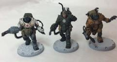 """""""Corp Officers"""" Heavy Ranger Command Squad - Cerberus Pattern #1"""