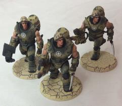 Desert Scorpions Heavy Engineer Squad - Babylon Pattern #1