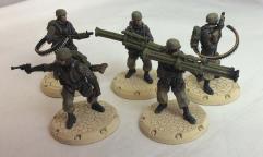Fallschirmjager Anti-Aircraft Squad #1