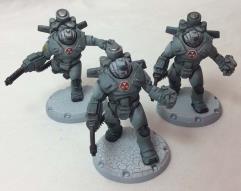 Heavy Ranger Attack Squad - Cerberus Pattern #1
