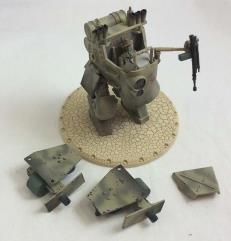 KV-478 Light Gun Walker - Natasha (TSH) - Babylon Pattern #2