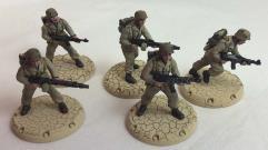 "NDAK Battle Grenadier Squad ""Sand Vipers"" - Babylon Pattern #1"