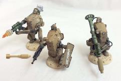Steel Guard Anti-Infantry Squad - Babylon Pattern #1
