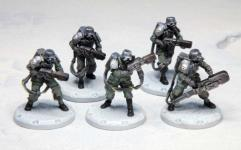 Laser Grenadiers - Laser Stumgrenadiere Squad