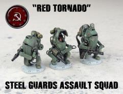 Steel Guards Assault Squad - Red Tornado