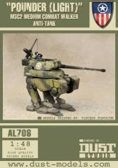 Medium Combat Walker M3-C2 - Pounder