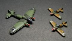 RAF Hurricane vs. German He-111