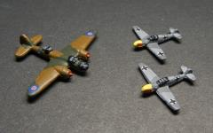 British Blenheim vs. German Me-109E