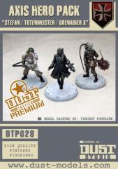 Axis Hero Pack - Stefan/Totenmeister/Grenadier X (Premium Edition)