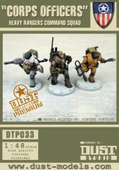 Corps Officers - Heavy Rangers Command Squad (Premium Edition)