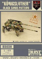 Heavy Panzer Walker - Konigsluther, Black Sands Pattern (Premium Edition)