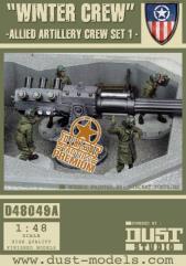 Allied Artillery Crew - Set #1, Winter Crew (Premium Edition)