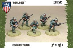 USMC Fire Squad - Devil Dogs