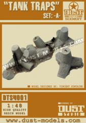Tank Traps - Set A (Premium Edition)