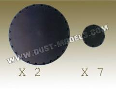 Round Bases - Smooth Surface, Black