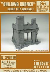 Ruined City Building #1 - Building Corner