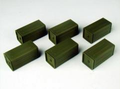 Allied Accessory Set #2 - Ammo Crates