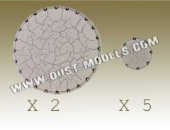 Round Bases - Concrete Gray (Premium Edition)