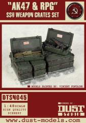 SSU Weapons Crate Set - AK47 & RPG