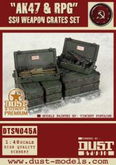 SSU Weapons Crate Set - AK47 & RPG (Premium Edition)