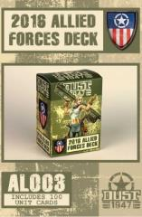 2016 Allied Forces Deck