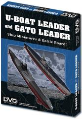 U-Boat Leader and Gato Leader Ship Miniatures & Battle Board