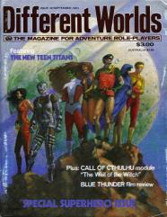 "#30 ""Superhero Special, The New Teen Titans, Call of Cthulhu Module - Wail of the Witch"""