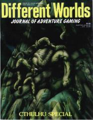 "#45 ""Call of Cthulhu Special, 'Lights of Madness' Module, Adventuring in the World of ElfQuest, Pavis Quest"""