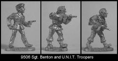 Sgt. Benton and U.N.I.T. Troopers