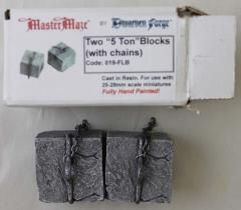 5-Ton Blocks w/Chains