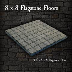 8 x 8 Flagstone Floors