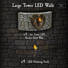Large Tower LED Walls