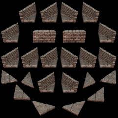 Diagonal Wall Pack