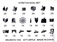 Caverns Stretch Goals (Painted Kickstarter Edition)
